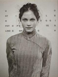 """jinxproof:  """"Lonneke Engel  Vogue Italia (September 1998)  ph. Peter Lindbergh  """""""