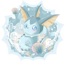 vaporeon cute - Google Search