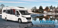 The Optima De Luxe range - The Elegant One. Designed and finished to the highest standard, with 13 different models to choose from. Viscount, Southampton, Motorhome, Recreational Vehicles, Archive, Model, Rv, Scale Model, Camper