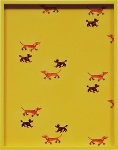 View Dachshunds, Poodles By Elad Lassry; chromogenic print, in artist's frame; Access more artwork lots and estimated & realized auction prices on MutualArt. Devon Rex, Framing Photography, Woman Painting, Poodles, Magazine Art, Dachshunds, Art Market, Painting Frames, Artsy
