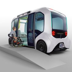 Toyota redesigns its e-Palette vehicle for Tokyo 2020 Olympic athletes - Toyota redesigns its e-Palette vehicle for Tokyo 2020 Olympic athletes Toyota redesigns its e-Palet - 2020 Olympics, Tokyo Olympics, Tokyo Motor Show, Tokyo 2020, Olympic Athletes, Mode Of Transport, Futuristic Cars, Self Driving, Transportation Design