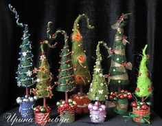Оригинальные елки к новому году своими руками мастер-класс