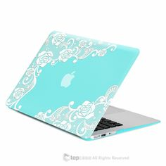 Air Lace Hot Blue / Turquoise Rubberized Hard Case Cover for MacBook Air… Macbook Pro 13 Inch, Macbook Pro Case, Mac Laptop, Laptop Skin, Macbook Air Cover, Macbook Air 13, Apple Macbook 2017, Laptop Screen Repair, Big Ben Clock