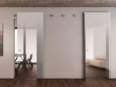 puerta corrediza de vidrio sin marco vitrummove multy puerta de vidrio bluinterni
