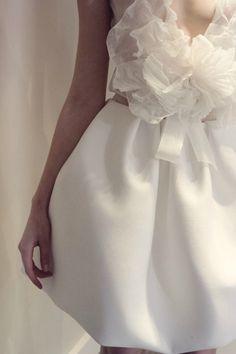 White Wedding Dress Ideas Christophe Josse Haute Couture Spring 2011 Peut être Magazine 1 2011.