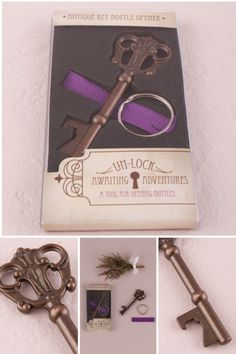 One of our absolute favor-ites - Antique Style Key Bottle Opener http://www.weddingstar.com/product/antique-style-key-bottle-opener-in-gift-packaging {#weddingfavor, wedding favour, vintage wedding, theme wedding, wedding guests, key to my heart}