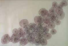 Flora VIII (umbelas) crochet  Arte textil  amparodelasota.com