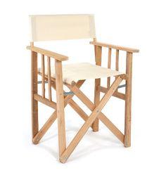 Pezula Interiors | Products | Furniture | Director Chair Ecru