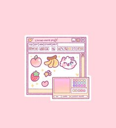 Com ❤ the cutest subscription box kawaii wallpaper, food wallpaper, photo wallpaper Aesthetic Pastel Wallpaper, Pink Aesthetic, Aesthetic Anime, Aesthetic Wallpapers, Kawaii Wallpaper, Wallpaper Iphone Cute, Cute Wallpapers, Food Wallpaper, Green Wallpaper