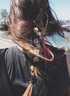 Braid with flowers <3