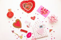 Hope you enjoyed my Valetine's DIYs featured on the blog this month ...