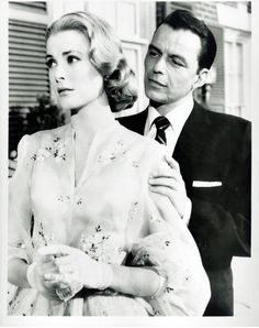 Grace Kelly and Frank Sinatra