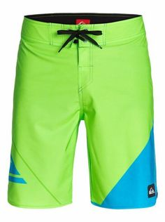 "quiksilver, New Wave 20"" Boardshorts, Lime Punch-6 (ggy6)"