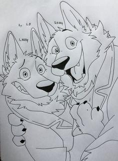 (Zootopia) Garry x Larry [selfie] by TamotojiD