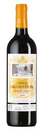 Château Saransot-Dupré 2009: Bouquet aus Brombeere, Himbeere und dezenten Kräuternoten, saftiger Geschmack, etwas Vanille und geschmeidigen Gerbstoffen im Abgang.