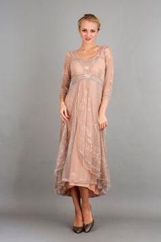 Nataya 40163 Downton Abbey Tea Party Gown in Quartz