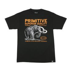 Primitive Apparel Superior Tee - Black Mens T-Shirts at Primitive Shoes & Apparel