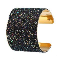 897e3e76d94 Buy Fashion Shiny Bangle Bracelet Simple Knot Bangle Cuffs for Women  Stretch Bracelet Gold Sequins Bangles
