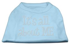 It's All About Me Rhinestone Shirts Baby Blue XL (16)