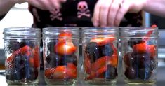 She Fills Old Jars With Fruit And Oil. Minutes Later? I'm Never Baking Again! via LittleThings.com