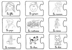 fabriquer des phrases French Sentences, French Verbs, French Grammar, French Teacher, Teaching French, Lap Book Templates, French Classroom, French Resources, French Immersion