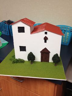 An example of a student created project: Constructing a California Mission.