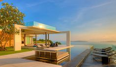 Koh Samui Villa 4 Breathtaking Natural Spectacle Offered by Modern Holiday Villa in Koh Samui
