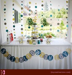 Sprinkle Party {Baby Shower} | | Kara's Party IdeasKara's Party Ideas