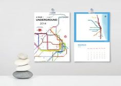 Beijing subway train metro map 8 x 10 print by afrochadesign a year underground 2014 wall calendar world city subway maps limited edition gumiabroncs Choice Image