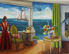 Original PaintingOcean Search catherine nolin by CatherineNolinArt, $495.00