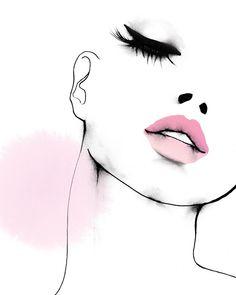 Velour Lashes – About Face Makeup Natural Foundation, No Foundation Makeup, Art Sketches, Art Drawings, Illustration Mode, Fashion Illustration Face, Models Makeup, Beauty Art, Pencil Art