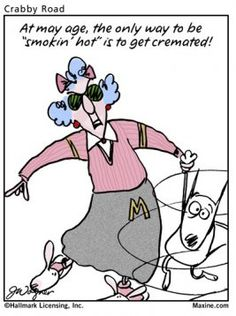 Maxine Age Cartoon