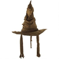 This wonderful brown, tattered Hogwarts Sorting Hat is a great replica of the hat featured in the Harry Potter films.