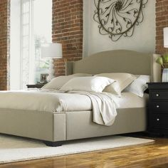 Stanley Wingback Bed