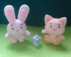 rabbit & cat dolls