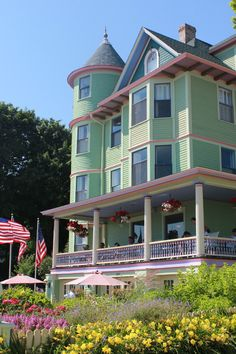 Bed  Breakfast on Mackinac Island, MI- I've stayed here!!