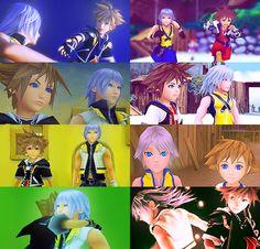 Sora and Riku | A beautiful friendship cx
