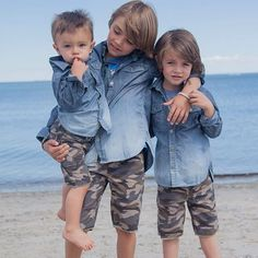Pin for Later: Let's Hear It For the Boys! See Melissa Joan Hart's New Kids Collection The Inspiration! Melissa's three boys, Tucker, Braydon, and Mason, inspired the new line.