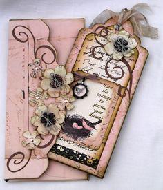 Beautiful Tag & envelope