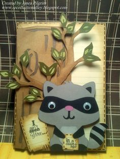 Create a Critter - Raccoon.
