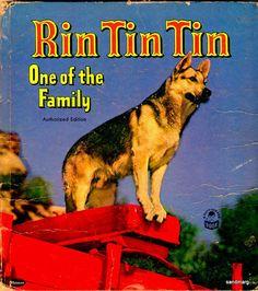 1953 Rin Tin Tin One of the Family by Frank Kearns by sandmarg, $9.99