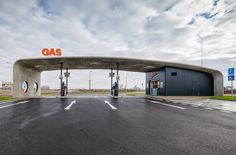 Pumping stations Dunajska Streda-best-gas-station-design-petrol-station-design