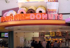 My favorite Donut shop in the country ... Dunkin Donuts! I was fortunate to grow up in New England where the company was based and had multiples of stores in every city!