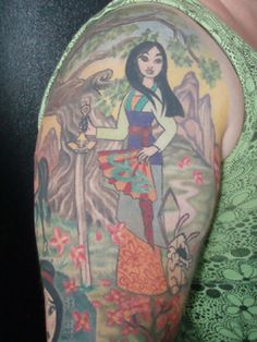20 Epic Disney Princess-Inspired Tattoos