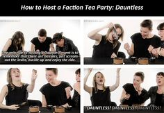 Dauntless Tea Party | No rules, but there ABSOLUTELY HAS to be dauntless cake...