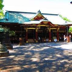 """Nezu-jinja Shrine in Tokyo's Bunkyo ward is one of Japan's oldest shrines and its architecture is unique in that it was built in Gongen-style which has been maintained until today. The shrine has a """"Tori gate path"""" similar to the one at Fushimi Inari-taisha in Kyoto."""