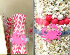decoration idea: fill with cheap popcorn and use fewer gumballs