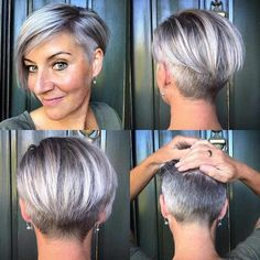 Beautiful Pixie And Bob Short Hairstyles 2019 Beautiful Pixi. - Beautiful Pixie And Bob Short Hairstyles 2019 Beautiful Pixie And Bob Short Hai - Short Hairstyles For Thick Hair, Short Hair Styles Easy, Short Pixie Haircuts, Short Hair Cuts, Short Undercut Hairstyles, Short Bobs With Bangs, Pixie Bob, Men's Hairstyle, Hairstyles 2018