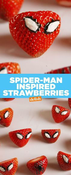 You Can't Call Yourself A Spider-Man Fan If You Haven't Tried These Strawberries