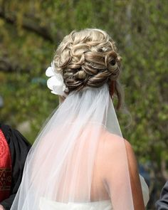 Bridal hair updo by Rochelle Noone